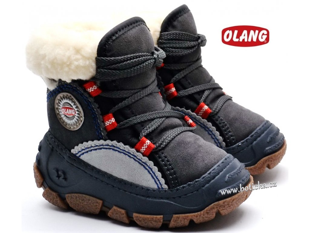 Zimní obuv OLANG PANDA 816 - Botička bfe4c05b0c