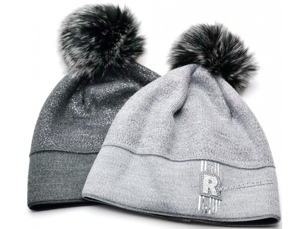 Zimní čepice RDX 550 kulich šedý