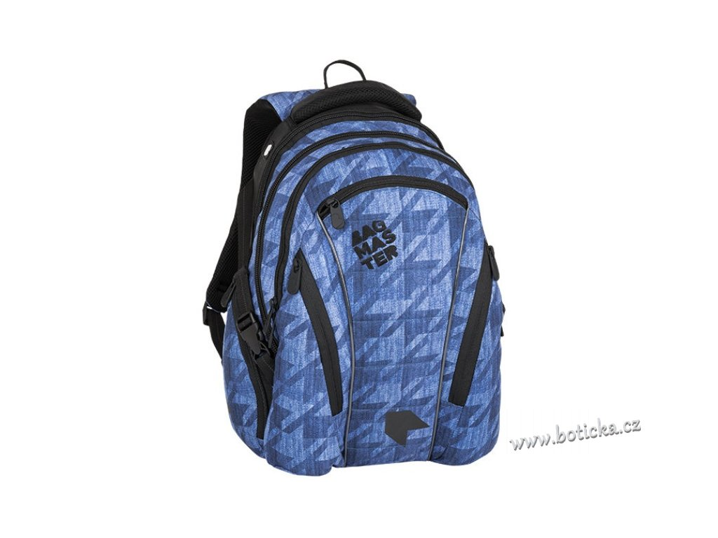 eb3a044c79 Studentský batoh Bagmaster BAG 8 B blue - Botička