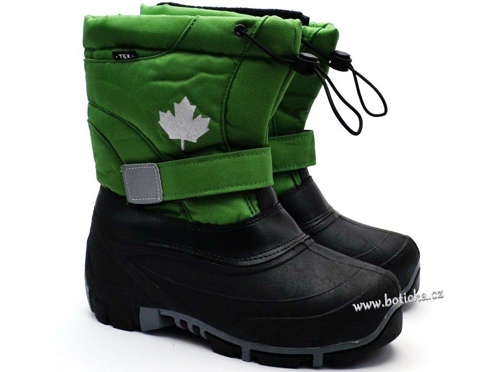 Sněhule CANADIANS 467185704 zelené
