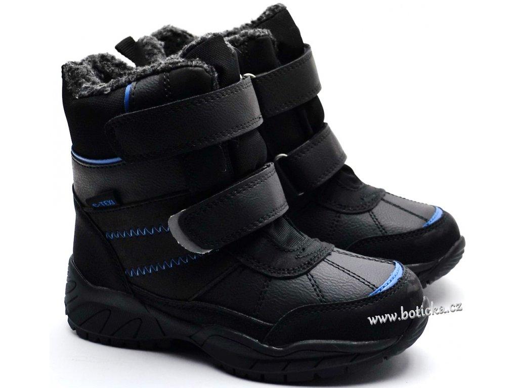 Zimní boty SPROX 430987 černé