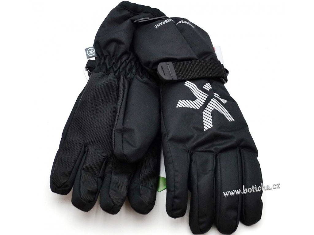 Voděodolné rukavice Savoy gloves Black