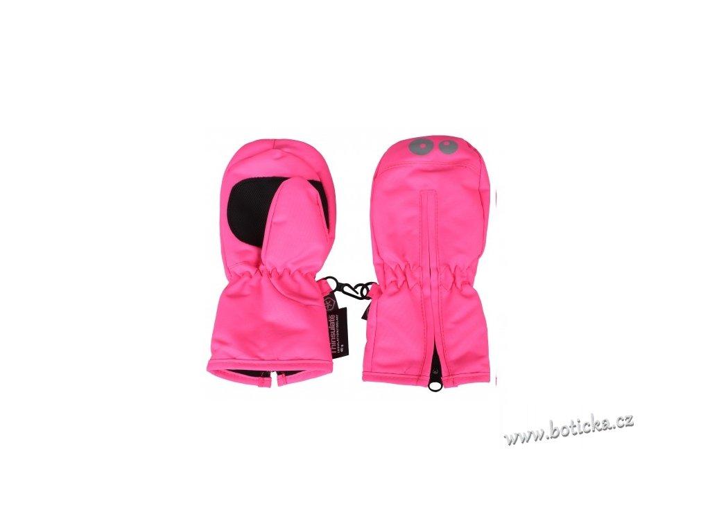 Voděodolné rukavice Kompin mittens Candy Pink