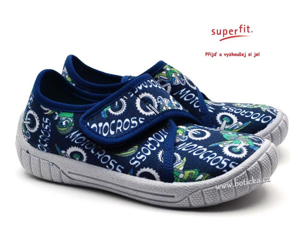 Bačkory SUPERFIT 4-00279-81 blau