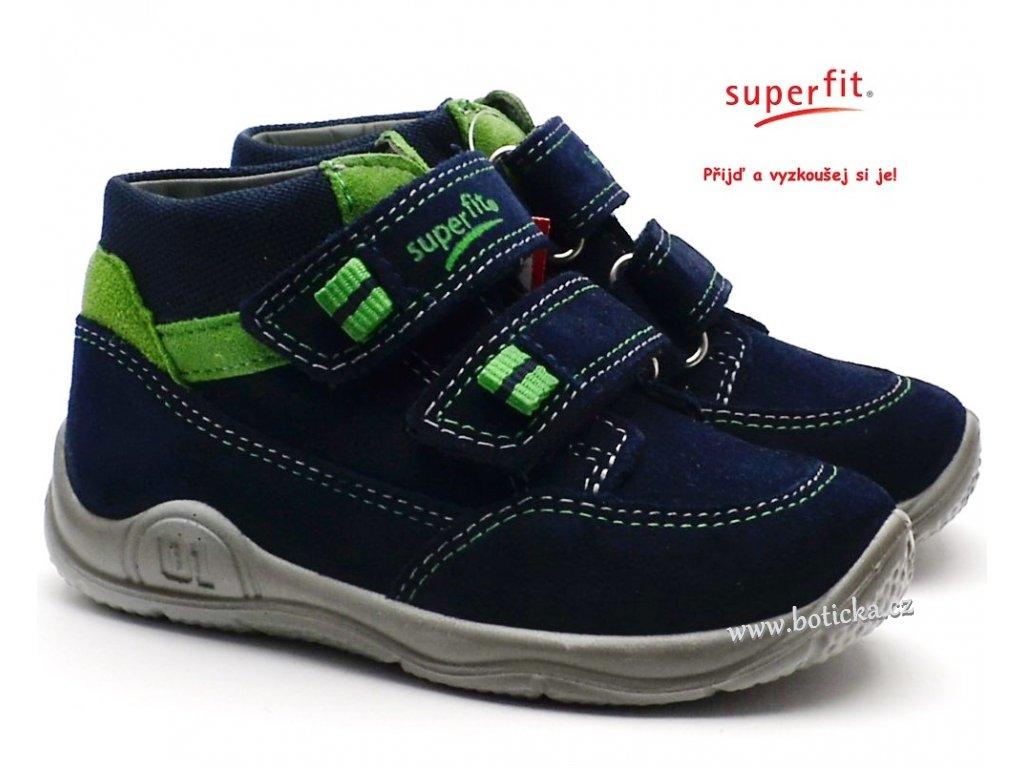 SUPERFIT 8-09415-80 blau/grun Dětské boty