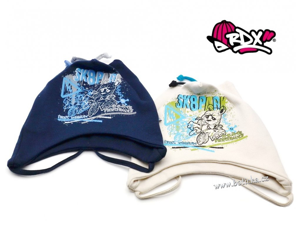 Čepice na uši vázací RDX 2089 SK8PARK