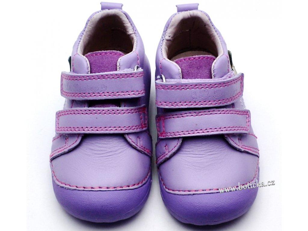 b3db4077a9b Dětské boty DDstep 015-166A fialkové - Botička