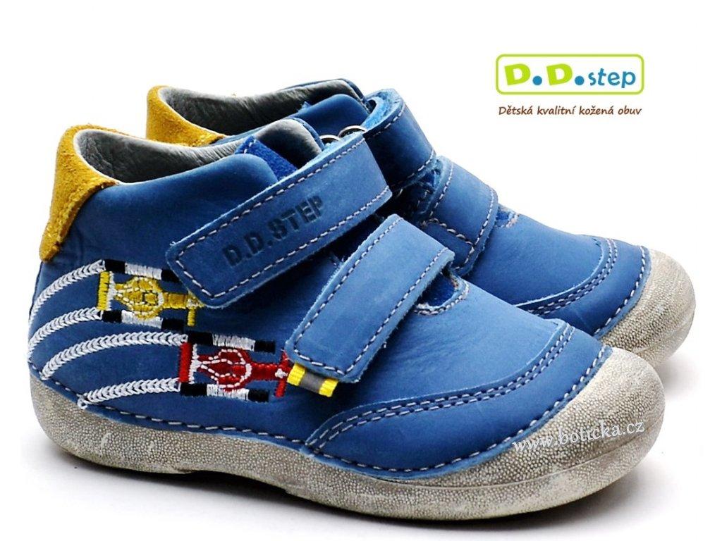 Dětské boty DDstep 015-177 modré