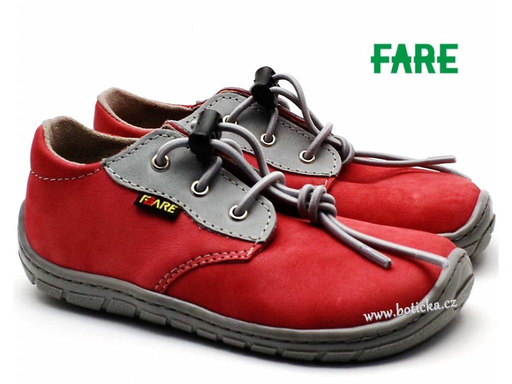 66658af7787 Dětské boty FARE BARE 5113241 cihlové - Botička