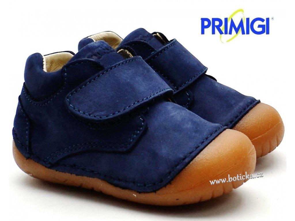 d4fe1f508c61 Barefootové boty PRIMIGI PLE 34000 00 tm. modré - Botička