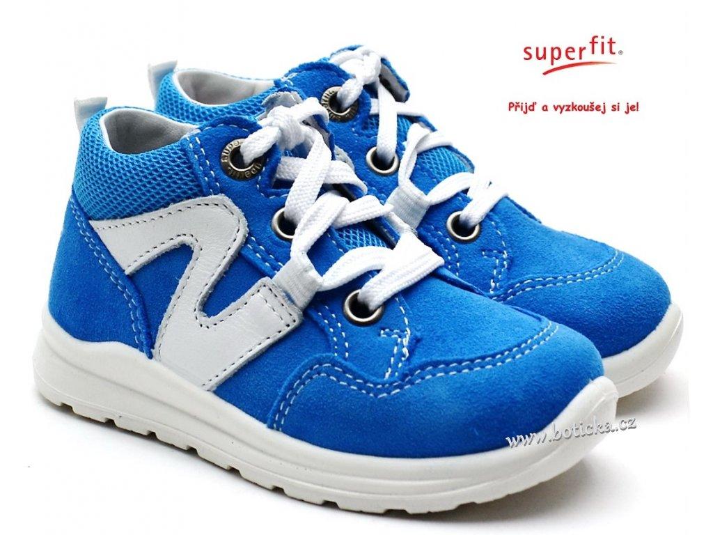 SUPERFIT 4-00323-80 blau Dětské boty