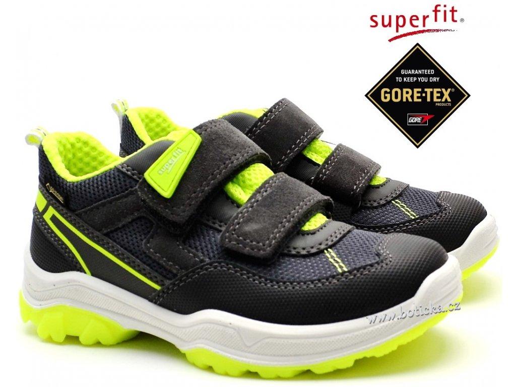 Dětské boty SUPERFIT 4-09064-20 grau/gelb