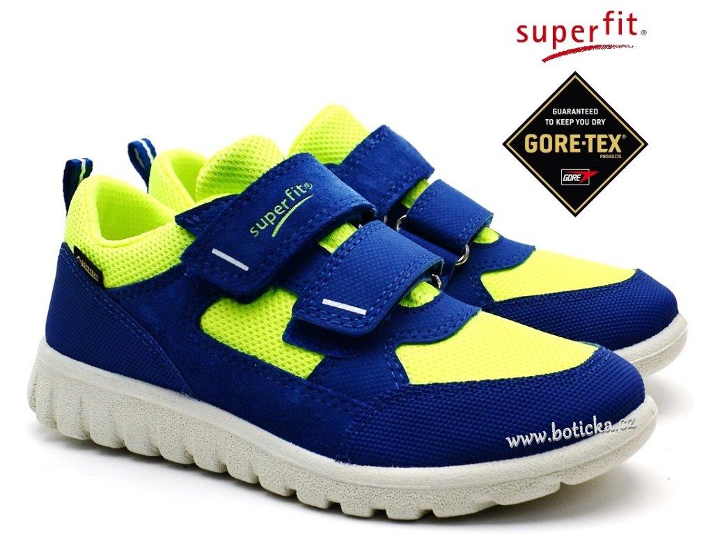 5486b95371aa Dětské boty SUPERFIT 4-09190-81 blau gelb - Botička