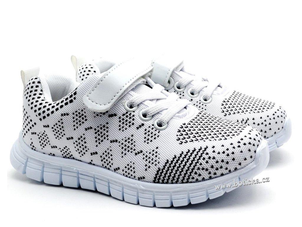 SLOBBY 172-0001 bílé botasky