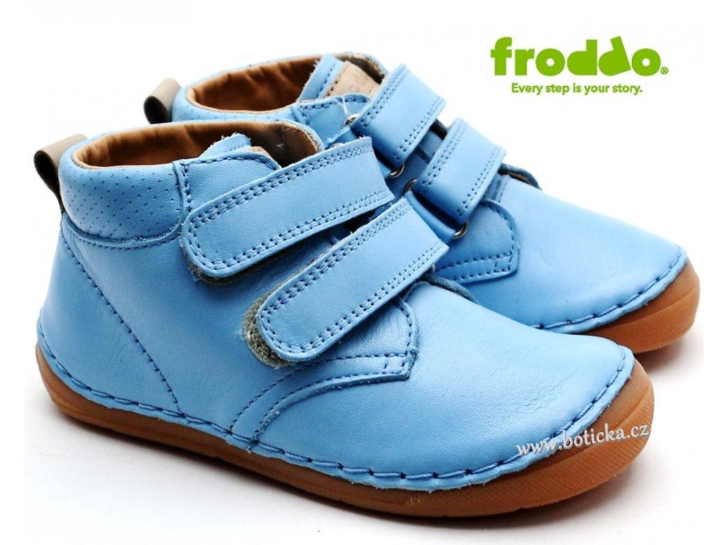 2c386c10fc24 Dětské boty FRODDO G2130158-2 sv. modré - Botička
