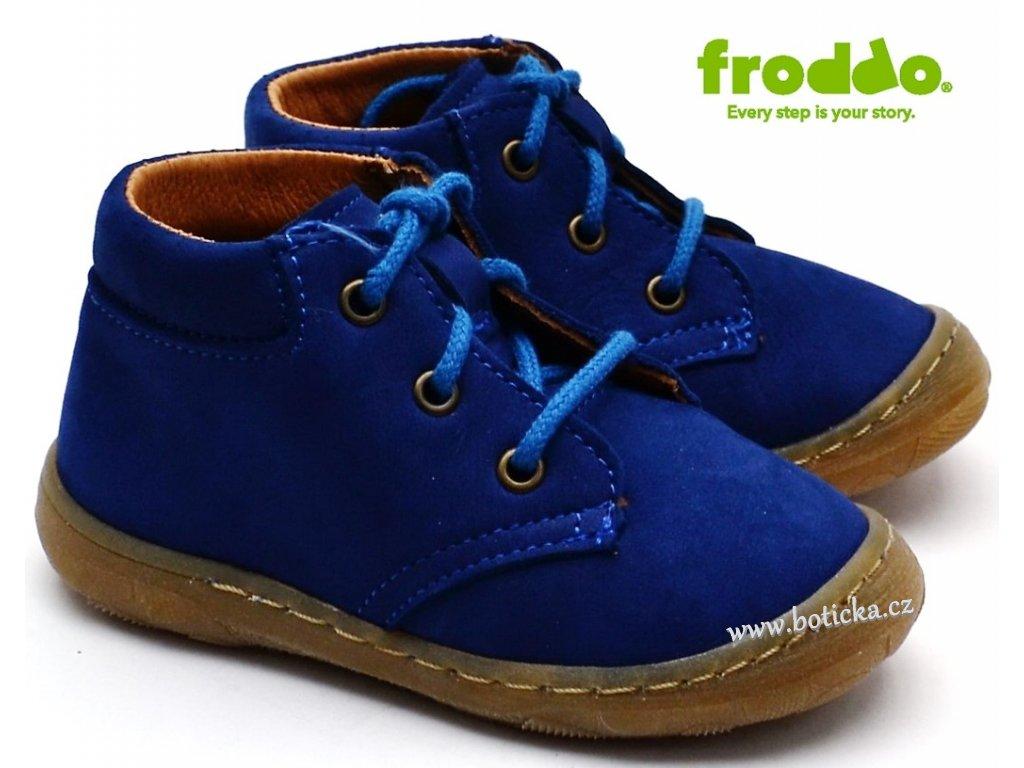 d13044f92941 Dětské boty FRODDO G2130163-1 modré - Botička