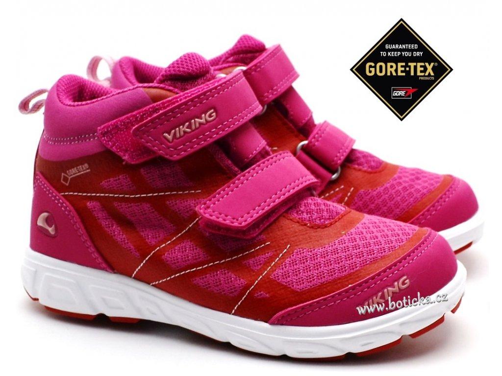 Dětské boty VIKING 3-47305 Magenta