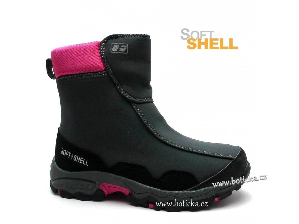 HASBY SOFTSHELL obuv dívčí