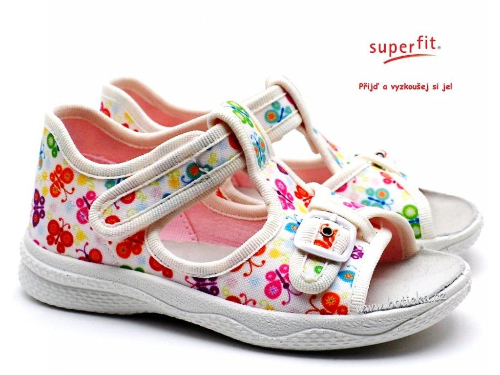 Sandále SUPERFIT 4-00292-10 weiss