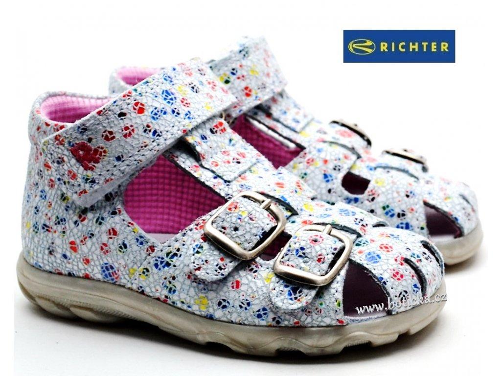 Sandále RICHTER  2111 552 0400 bílé