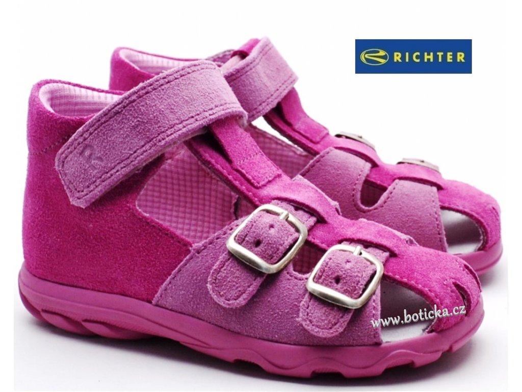 Sandále RICHTER  2111 551 3301 růžové