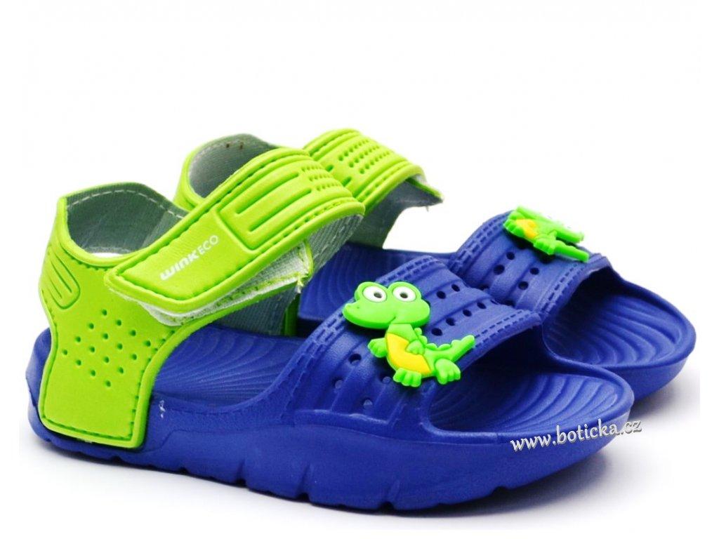Boty do vody WINK SU91374-12 modré