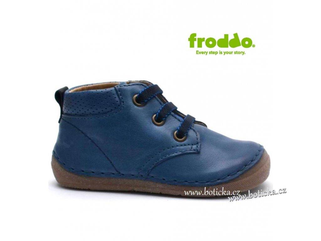 Dětské boty FRODDO G2130121-1 modré