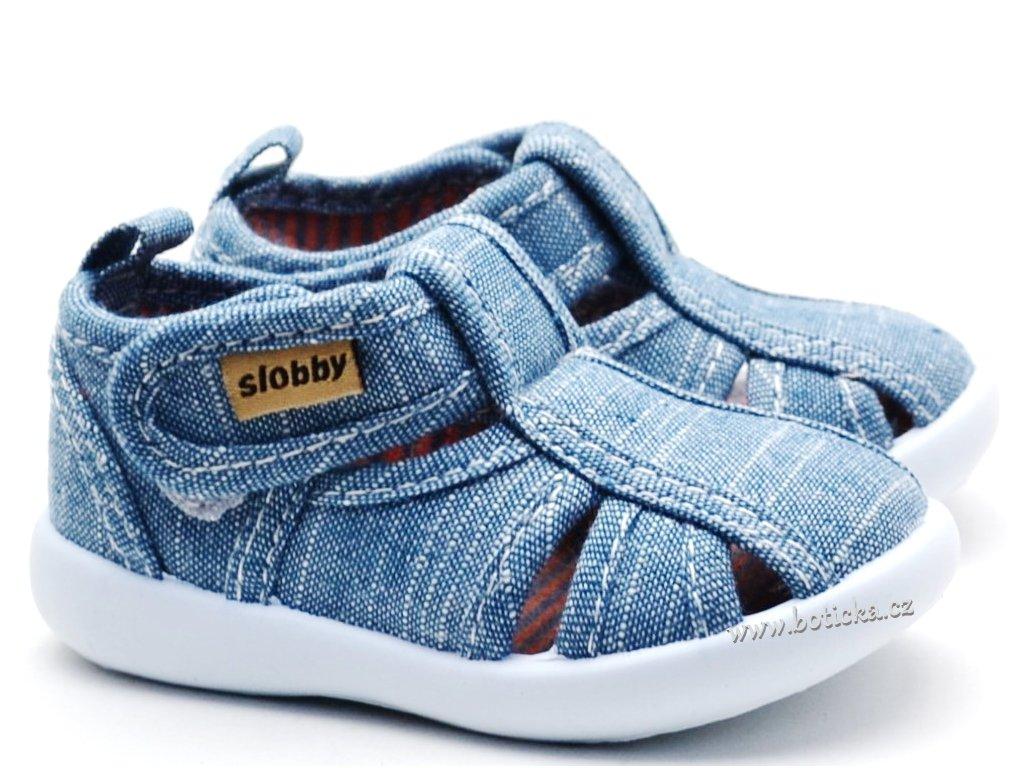 SLOBBY 130-0035-X1 Dětské sandále modré