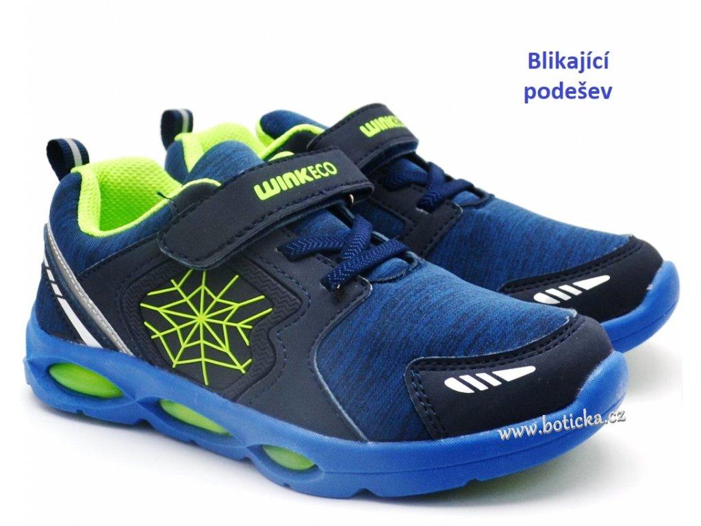 Blikající dětské boty WINK ECO JE91566