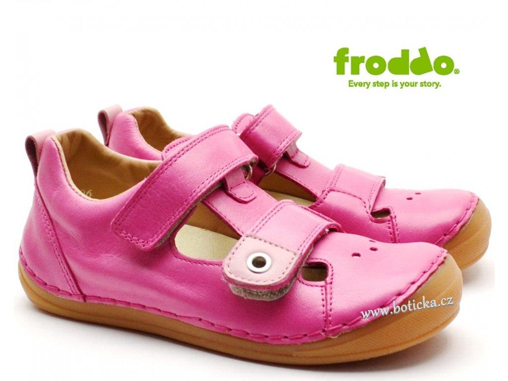 Dětské sandále FRODDO G2150090-6 růžové