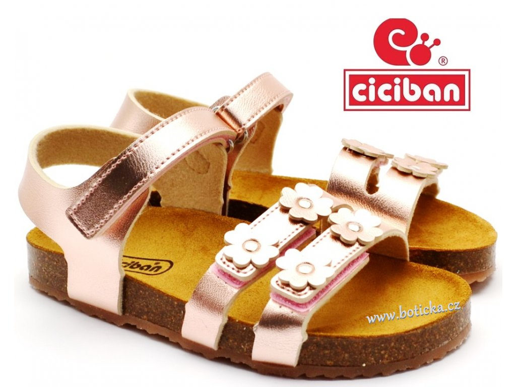 CICIBAN 295050 Bio sandále ROSE