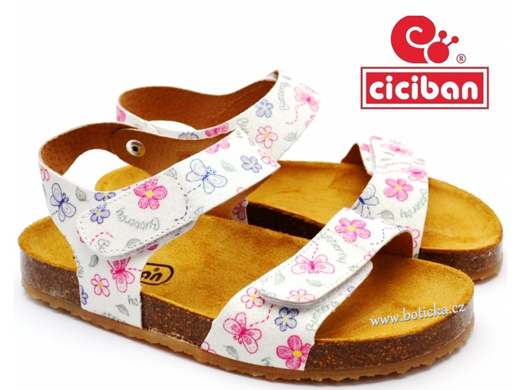 Bio sandále CICIBAN 295618 Butterfly