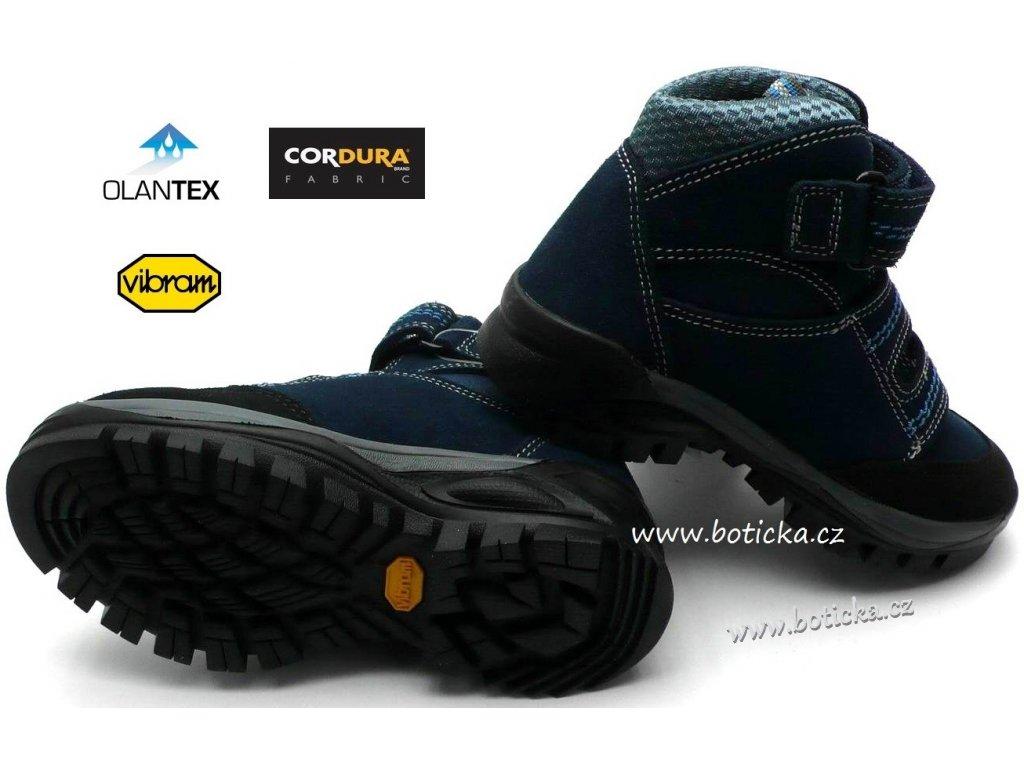 870c9d4f19c Trekové boty OLANG FOX 82.tex blu - Botička