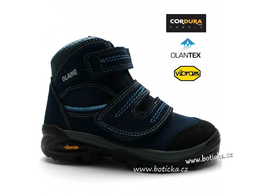 876d6040257 Trekové boty OLANG FOX 82.tex blu - Botička