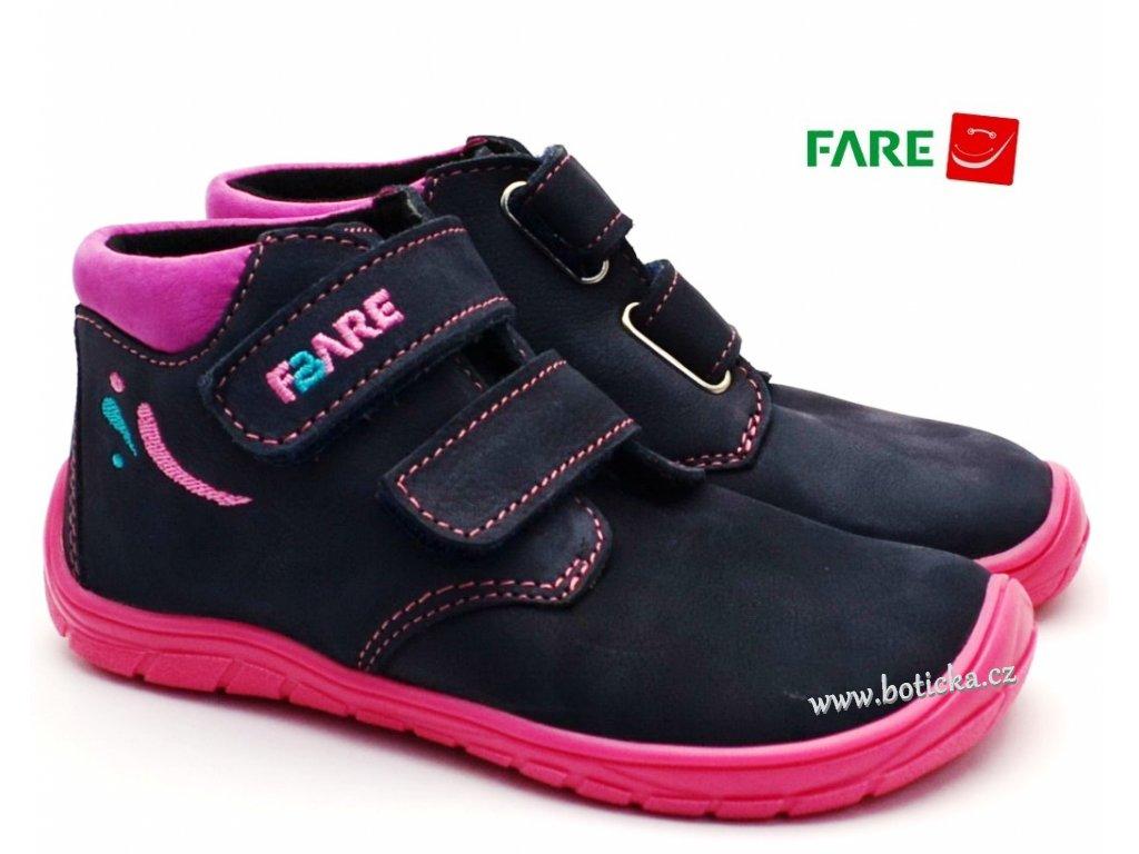 FARE BARE 5221211 dětské boty barefoot