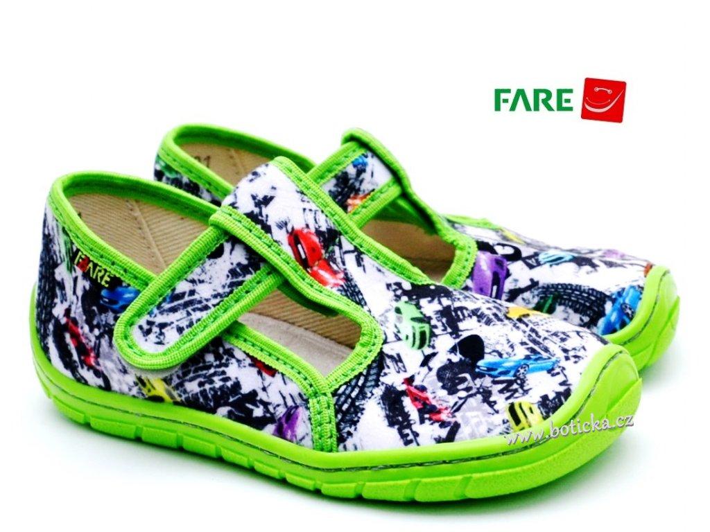 Fare bare dětské papuče 5102431