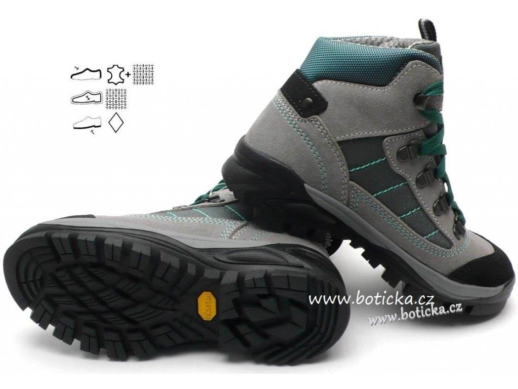Treková obuv OLANG Tarvisio 844 šedé - Botička 4b72b382c8