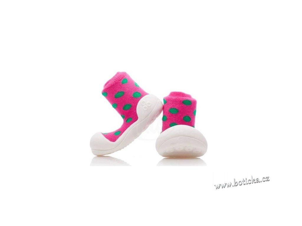 ATTIPAS Polka Dot AD03 Pink