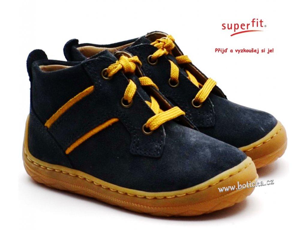 SUPERFIT 5-00342-20 Dětské boty grau