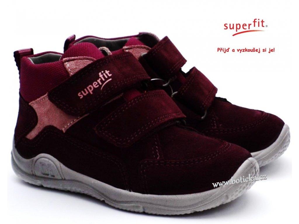 SUPERFIT 5-09418-50 rot dětské boty