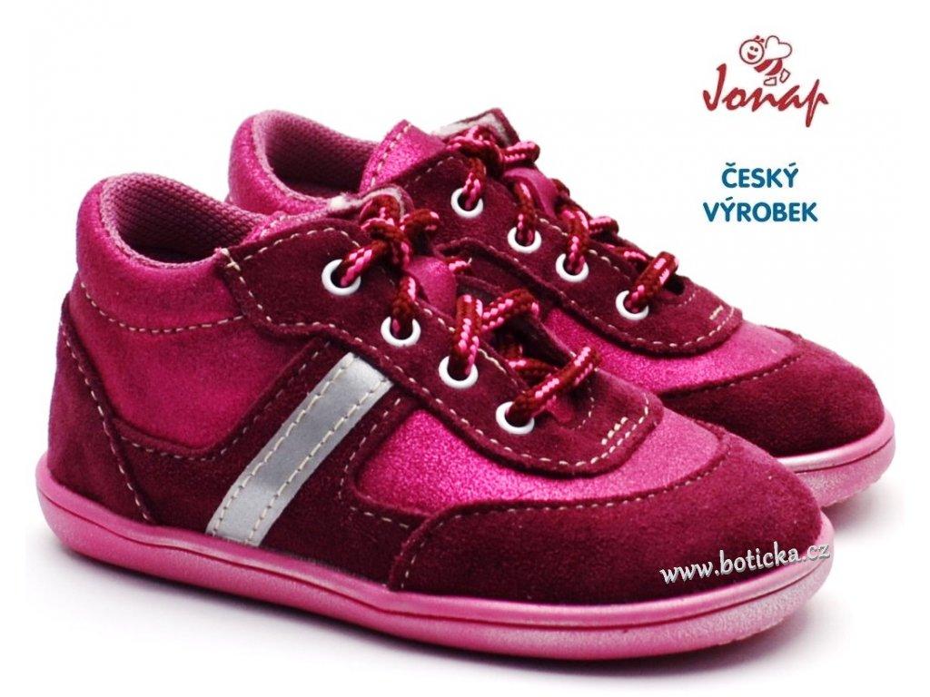 JONAP 727251-051s Dětské boty růžové