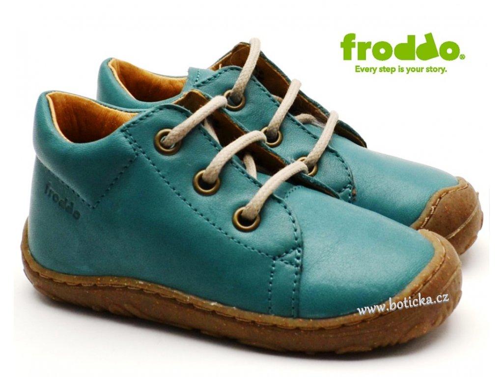Dětské boty FRODDO G2130177-7 modré