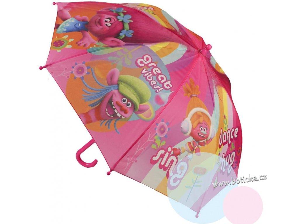 Deštník dětský Trolové 326-486
