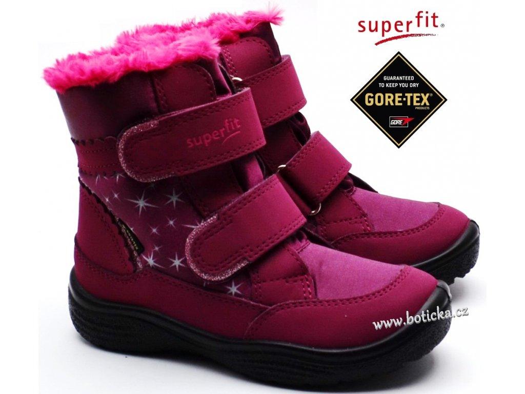 Zimní obuv SUPERFIT 5-09096-50 rot rosa