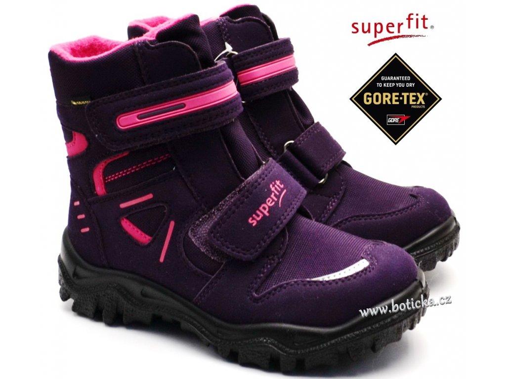 Zimní obuv SUPERFIT 3-09080-90 lila rosa