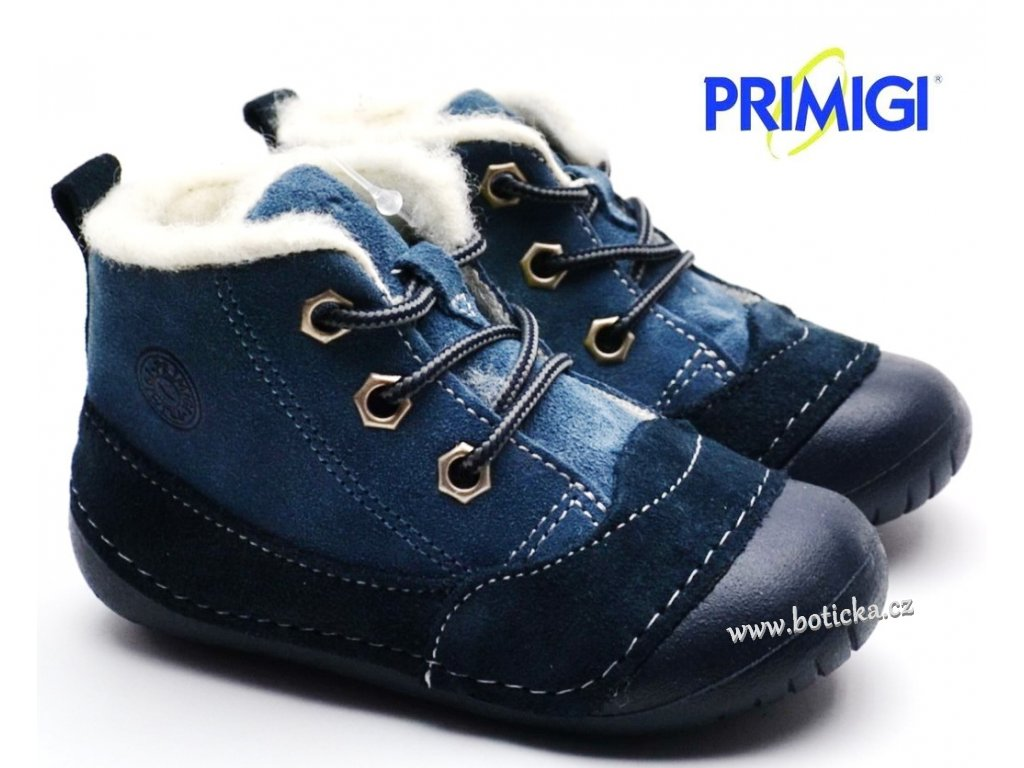 Zimní barefootové boty PRIMIGI 44000 00 navy
