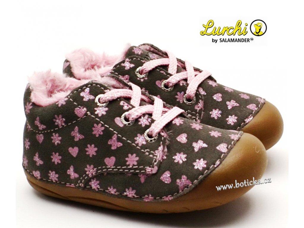 Zimní barefoot boty LURCHI 33-13987-25 grey