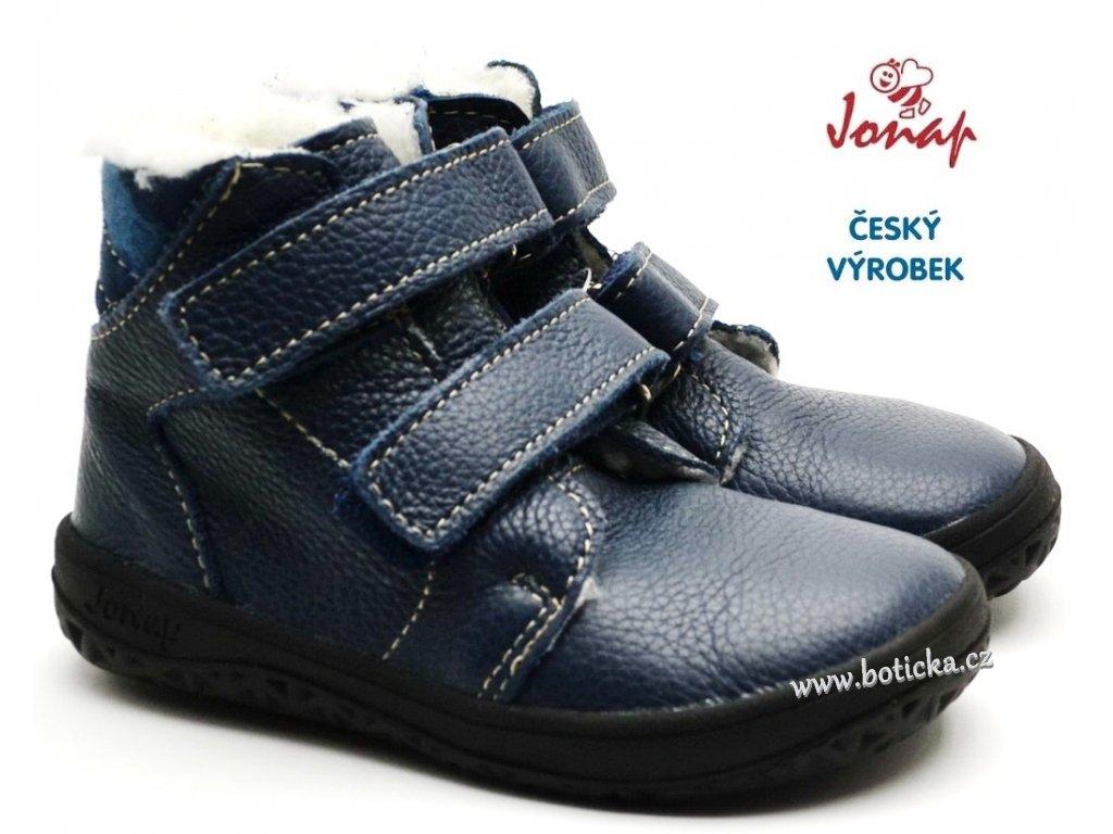 JONAP B4 MV Dětské barefoot boty modré