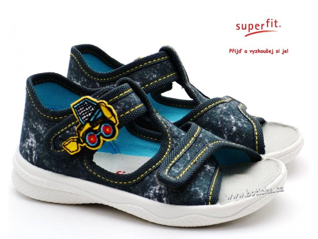 Sandále SUPERFIT 6-00293-20 grau