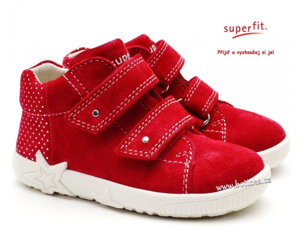 SUPERFIT 6-09436-50 rot Dětské boty